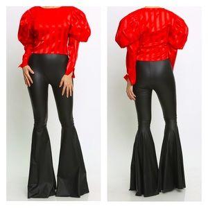 Black SuperFlare Pants